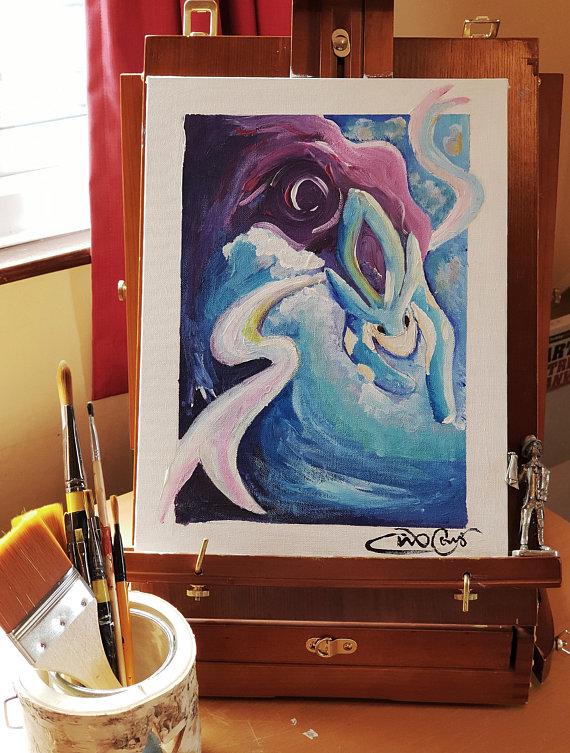 Suicune & the Waves