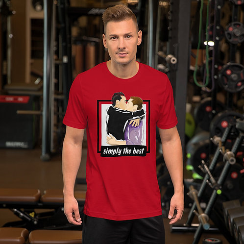 Simply the Best - Short-Sleeve Unisex T-Shirt (Red)