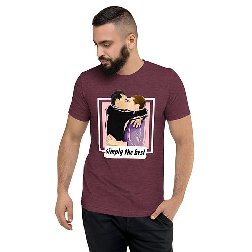 Simply the Best - Short sleeve t-shirt (Maroon)