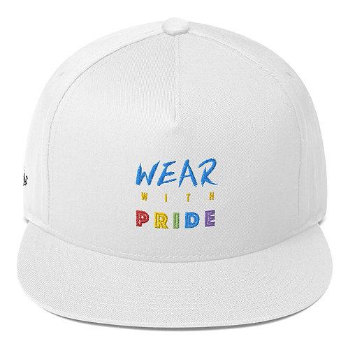 Wear with Pride - Flat Bill Cap