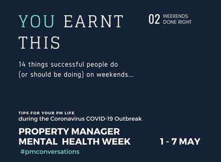 Property Manager Mental Health Week...