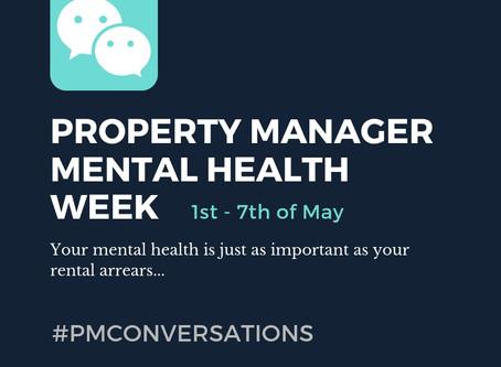 PROPERTY MANAGER MENTAL HEALTH WEEK