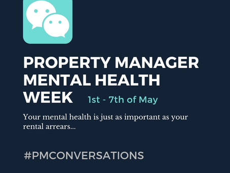 PROPERTY MANAGER MENTAL HEALTH WEEK