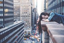 Girl in New York City