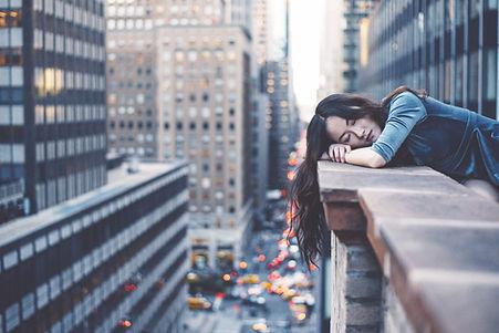 Девочка в Нью-Йорке