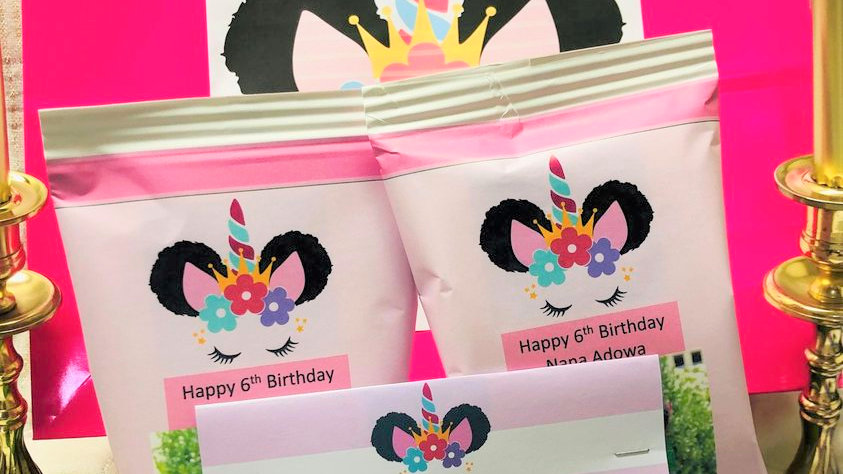 Birthday personalized party box