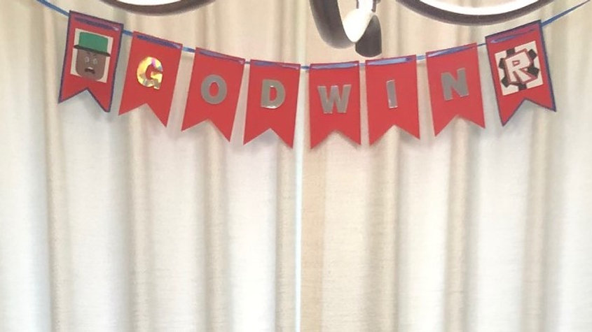 Customized Party Banner