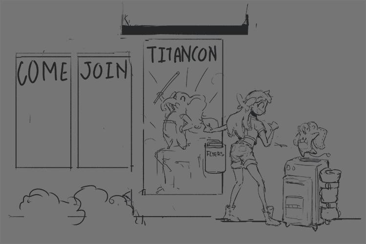 Joining the Titan Con Crew