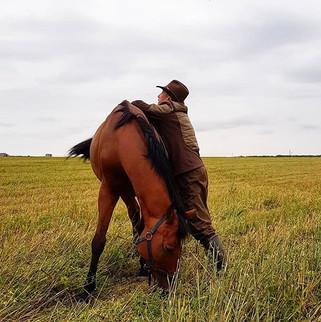 Думала, что рядом с лошадью уже и не уви