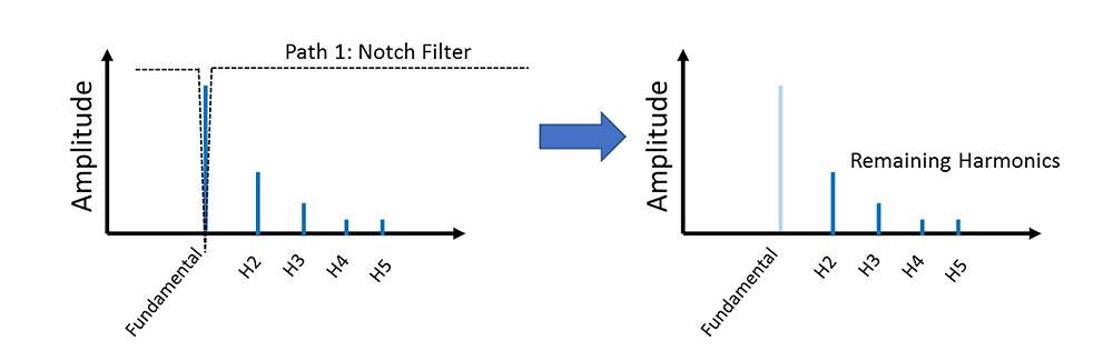 Notch Filter Removes Fundamental
