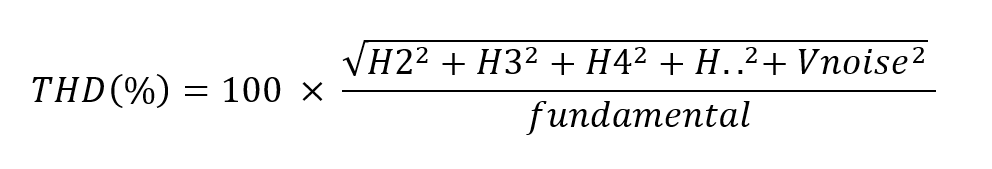 THD% Calculation