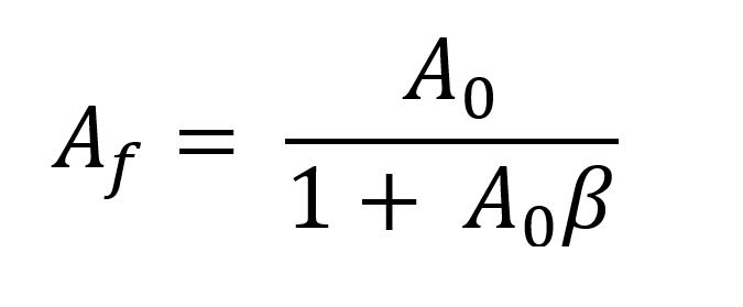 Feedback Equation