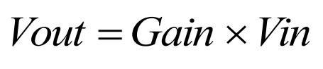 Gain Equation