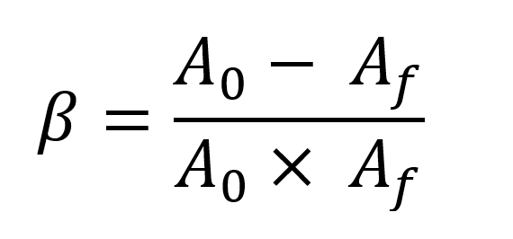 Feedback Equation Solved for b