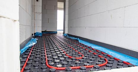 podlahové výtápení