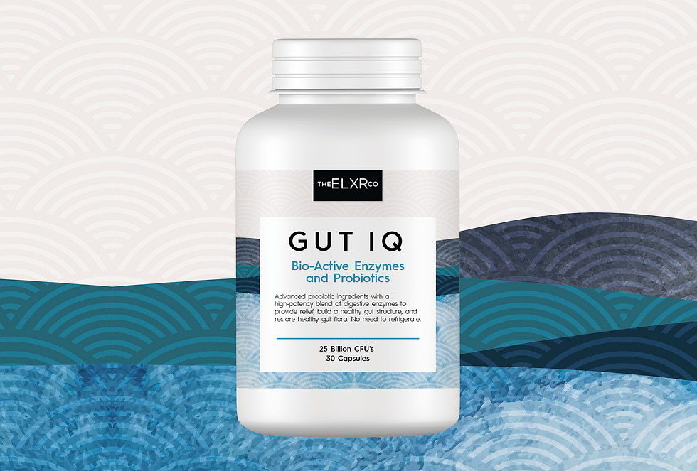 GUT IQ (ENZYMES + PROBIOTICS)