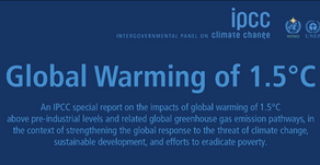 IPCC Publishes Special Report on 1.5ºC Warming