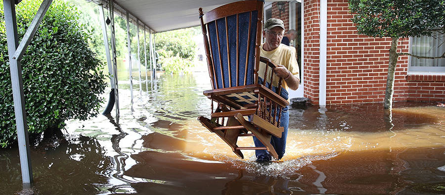 North Carolina Reconsiders Climate Change During Hurricane Recovery