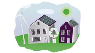 Alle woningen energieneutraal