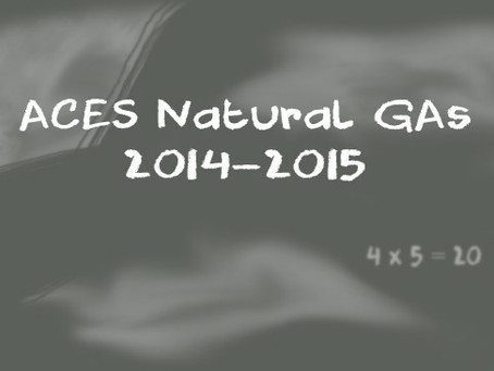 NATURAL GAS FOR FALL '14