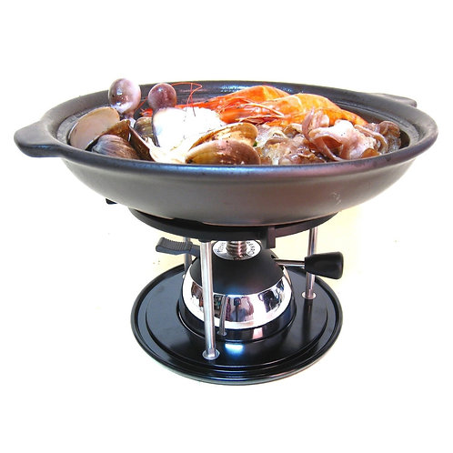Butane Burner with Cooking Stand Set