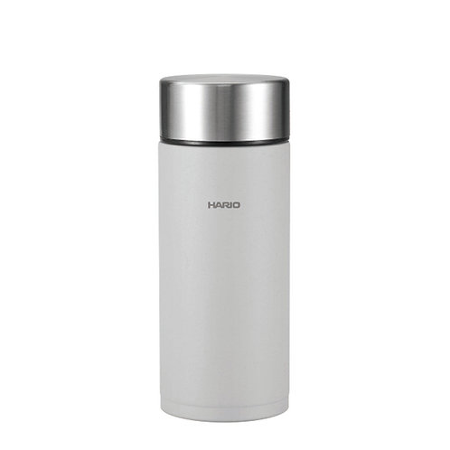 Hario Insulated Stainless Steel Stick Bottle 350mL - GRAY