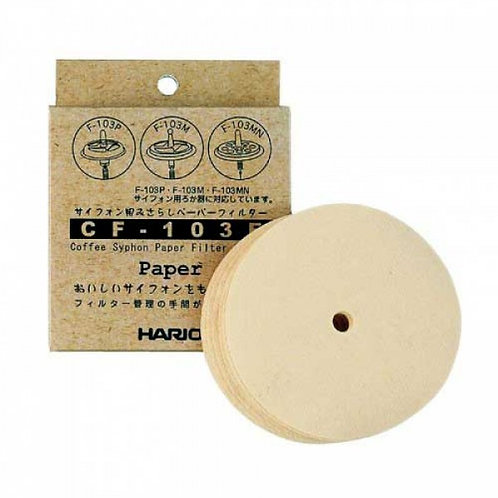 Hario Coffee Syphon Paper Filter Refill 100 pcs for TCA-2/3/5 NXA-5