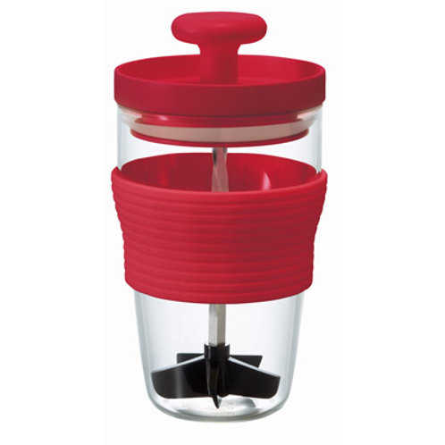 Hario Manual Fruits Smoothie Maker (Red)