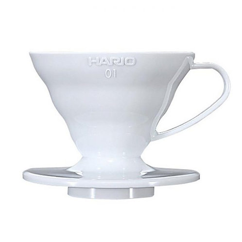 Hario V60 White Ceramic Dripper - Size 01