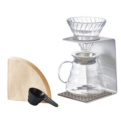 Hario V60 Aluminum Single Stand Set 02