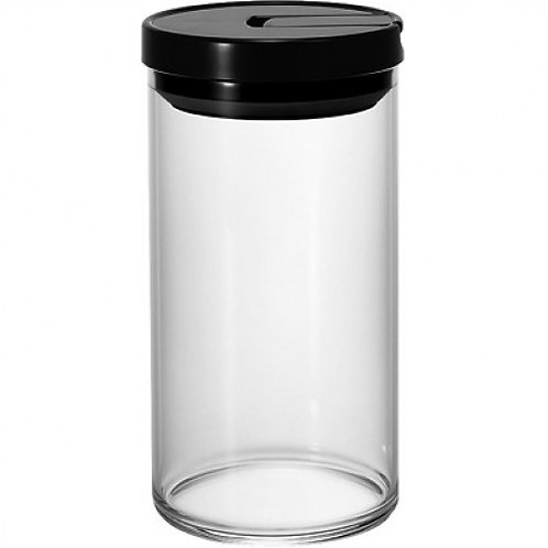 Hario Air Tight Coffee Canister - Black 300grams
