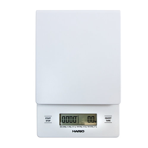 Hario Digital Drip Scale & Timer - WHITE