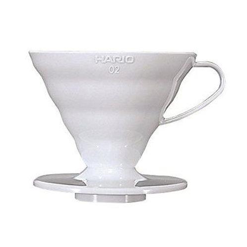 Hario V60 White Ceramic Dripper - Size 02