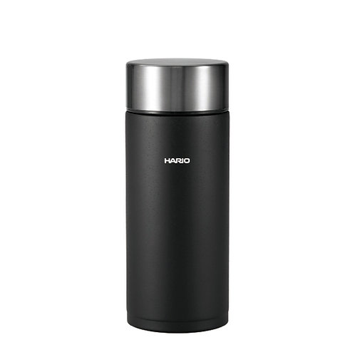 Hario Insulated Stainless Steel Stick Bottle 350mL - Black