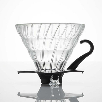 Hario V60 Black Glass Dripper - Size 02