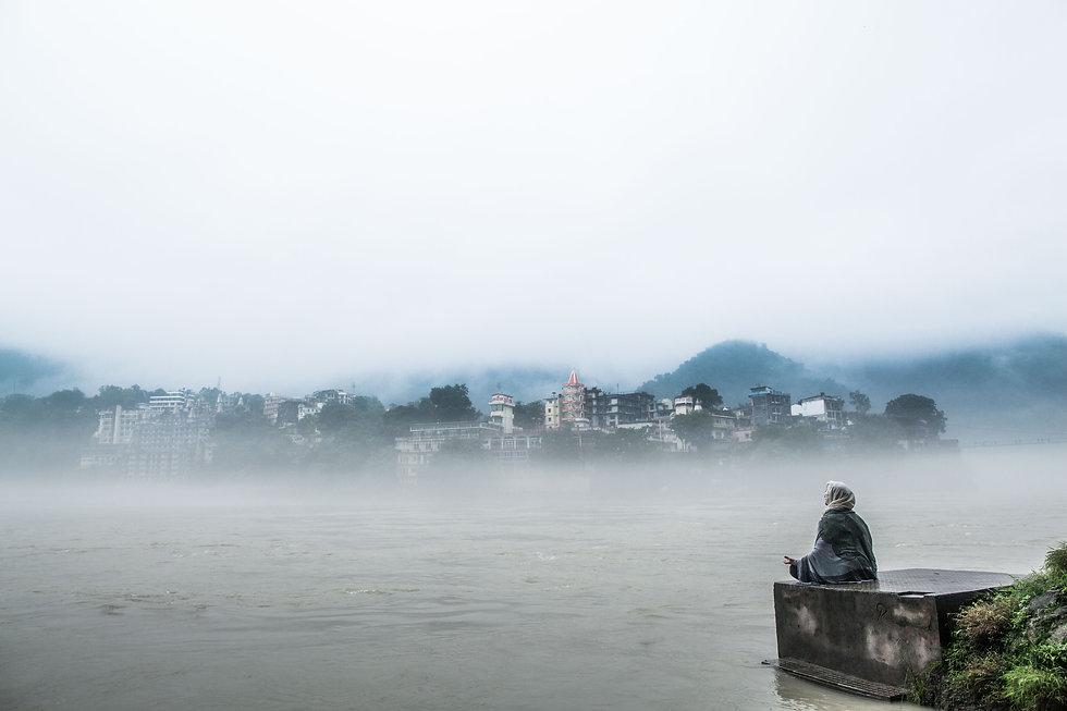 Meditating on the Ganga - Adam.jpg