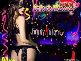 Aquecimento de carnaval na Funny Night