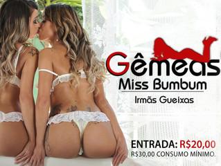 Gêmeas do Miss Bumbum