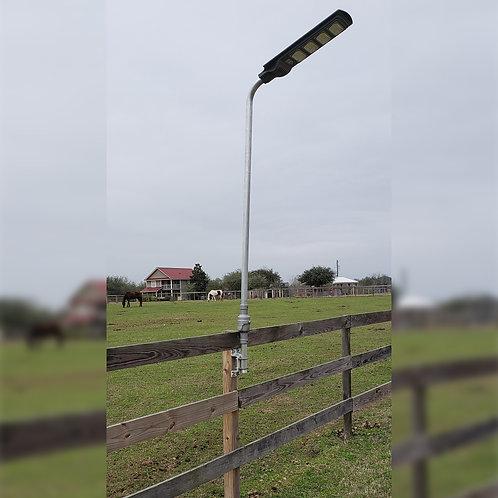 Fence Post Solar Lighting System