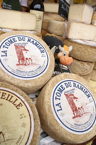 Tome du Ramier, fromage du Tarn-et-Garonne