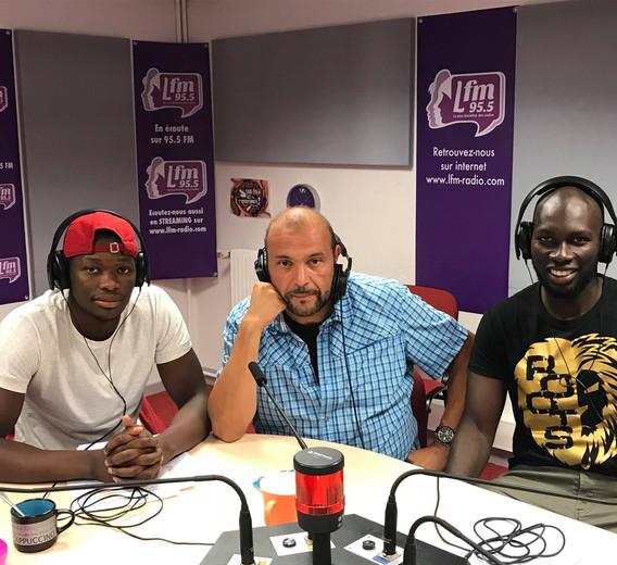 Passage à LFM radio