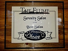 Serenity Salon Best Salon People's Choice Award 2018