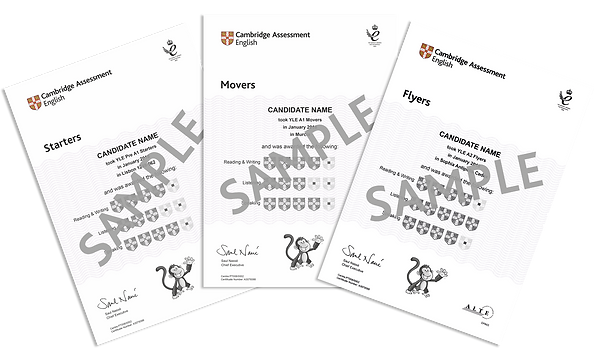 Starters_Movers_Flyers_sample_certificat