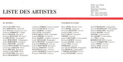 1990 Galerie Simon Blais