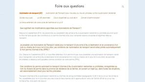 FAQ site Internet club de tir