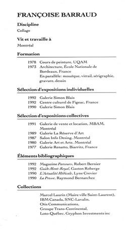 1992 Galerie Simon Blais