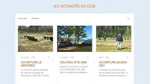 Blog de site Internet club de tir
