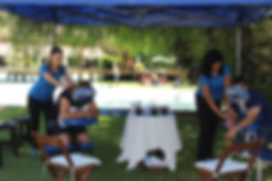 masaje expres en silla