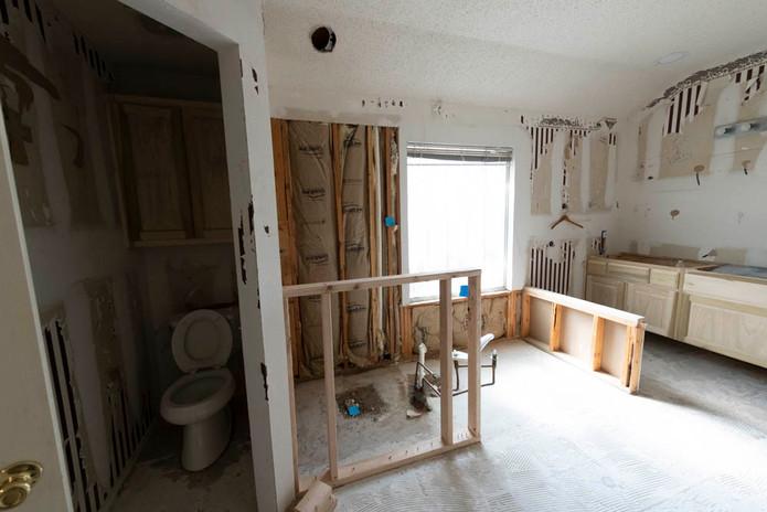 Bath Remodel Demolition