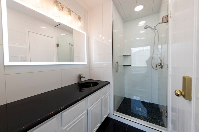 Dramatic Shower Remodel